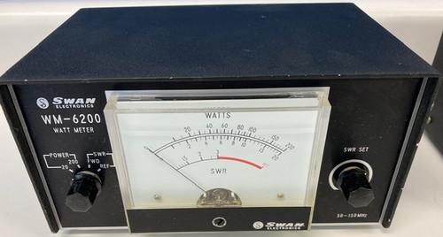 Swan Electronics WM-6200 Watt Meter, 20/200, 50-150 MHz