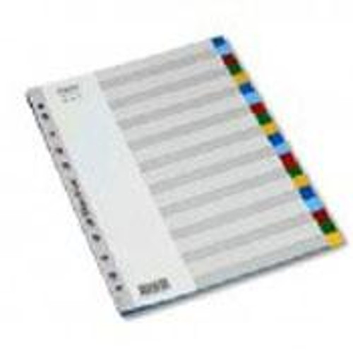A4 Dividers 20 tab Poly