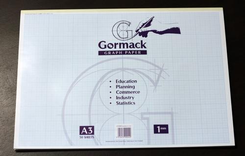 1mm A3 Graph pad