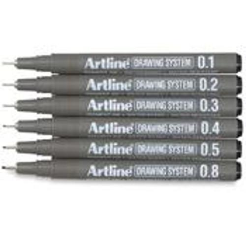 ARTLINE Drawing Pen Set of 6