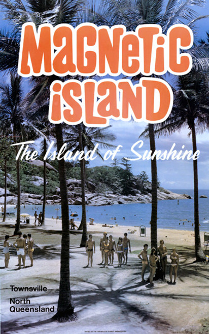 Magnetic Island Tourism Poster 1970