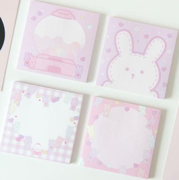 Sweet Bunny Sticky Notes
