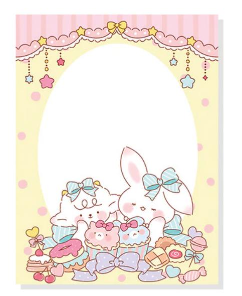 Bunny Sweet Shoppe Memo Pad