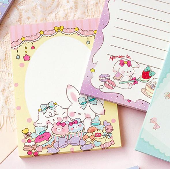 Bunny Sweet Shopee Memo Pad