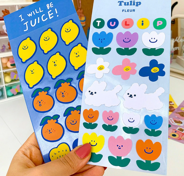 Totally Tulips Stickers