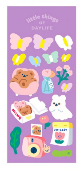 Chill Bear Stickers