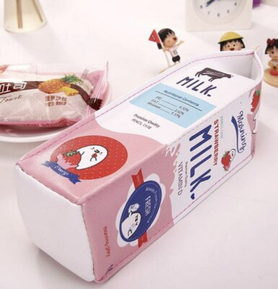 Milk Carton Pencil Pouch