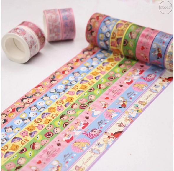 Alice and Wonderland Washi Tape