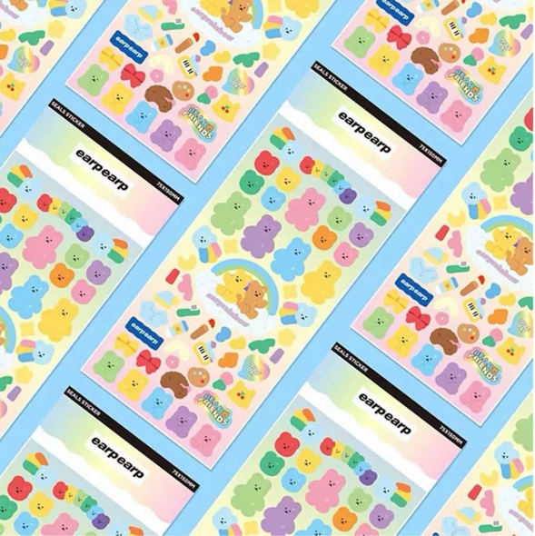 Gummy Bear Paradise Stickers
