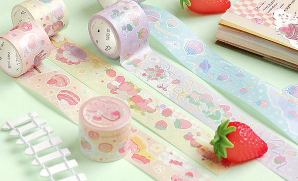 Strawberry Fields Washi Tape