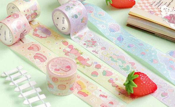 Strawberry Fields Washi Tape