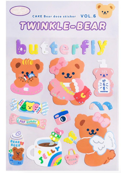 Candy Shop Bear Stickers