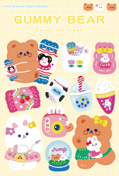 Shopping Day Stickers