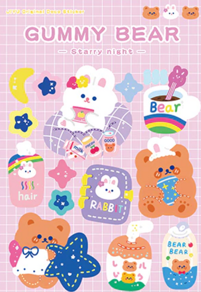 Night-Time Routine Stickers