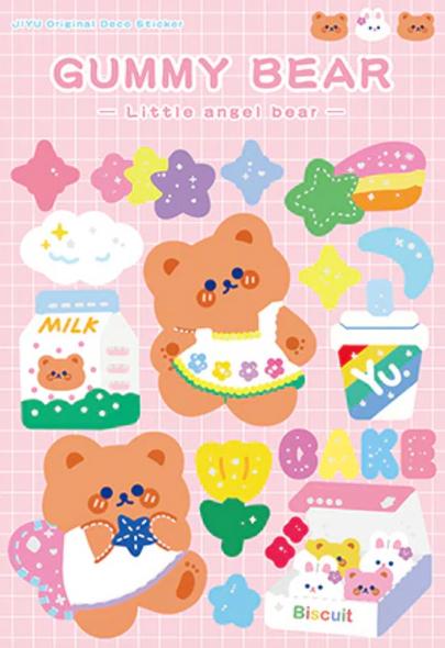 Cute Donut Shop Stickers