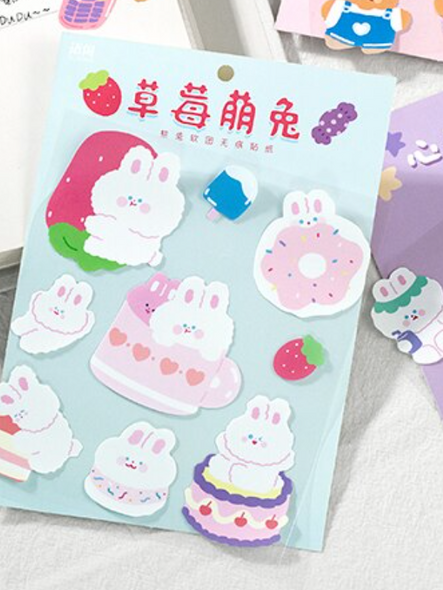 Bunny Sweet Shop Stickers