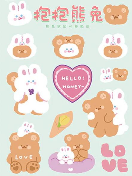Cuddle Buddies Stickers