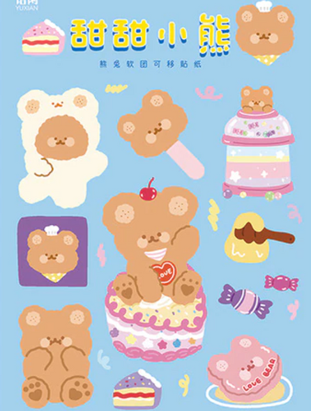 Yummy Sweets Stickers