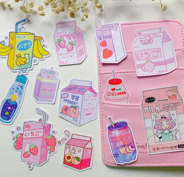 Cute Drink Stickers