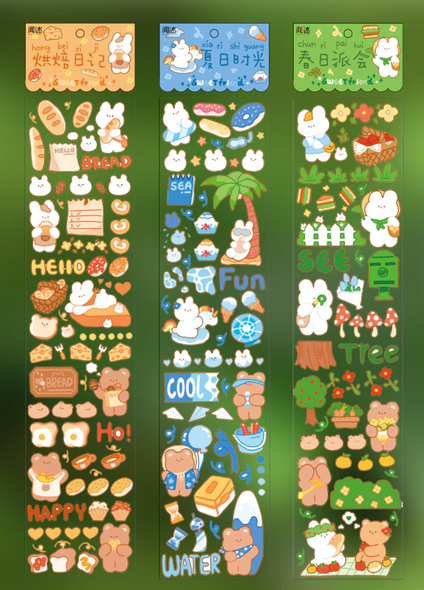 Adorable Bear Stickers