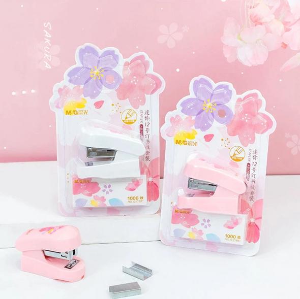 Cherry Blossom Stapler