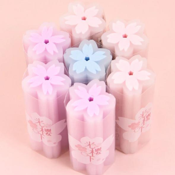 Stick Cherry Blossom Eraser