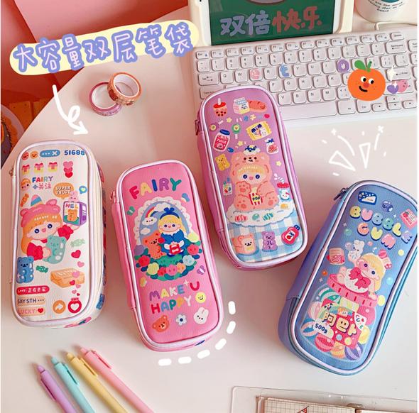 Bubble Gum Pencil Cases