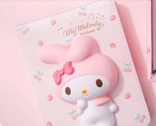 My Melody Squishy Journal