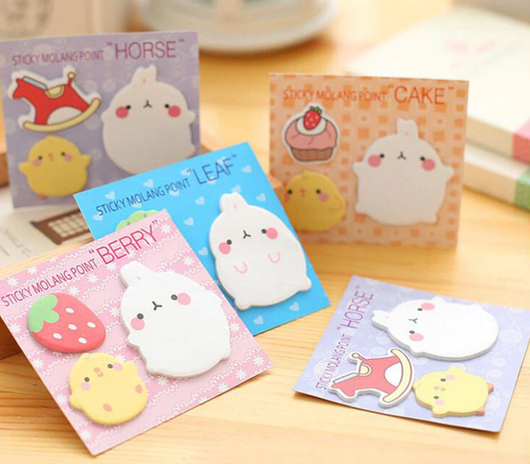 Molang Sweet Sticky Notes