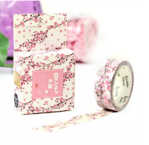 Romantic Cherry Blossom Washi Tape