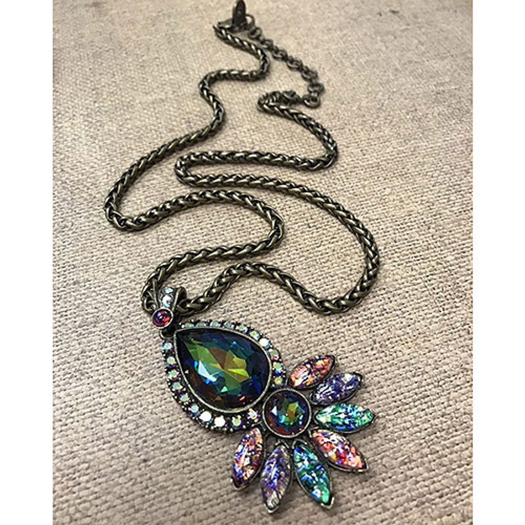 Peacock Pop Pendant