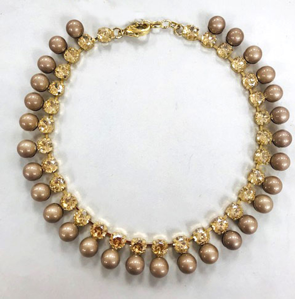 Gold Bubbles and Baubles Necklace