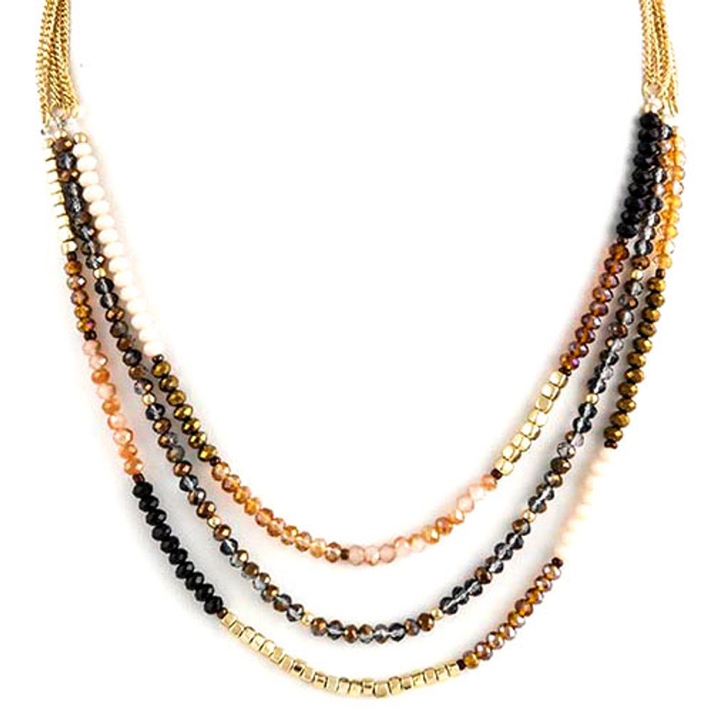Beaded Beauty Necklace