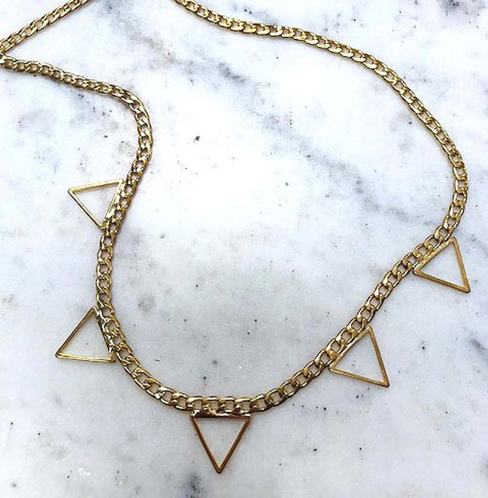 Get the Point Necklace