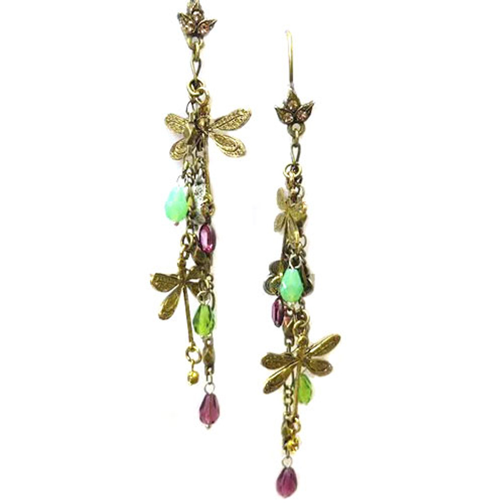 Dragonfly Duster Earrings