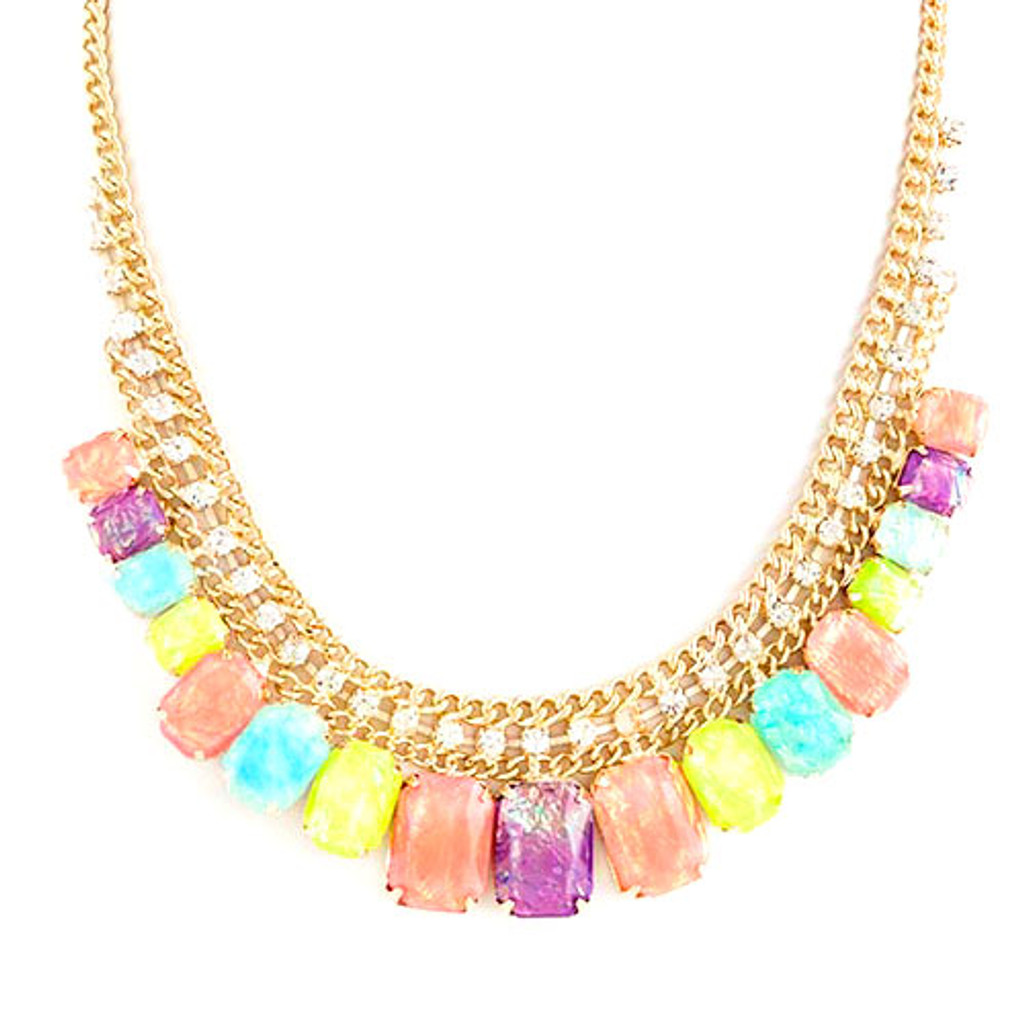 Pastel Gumdrops Necklace