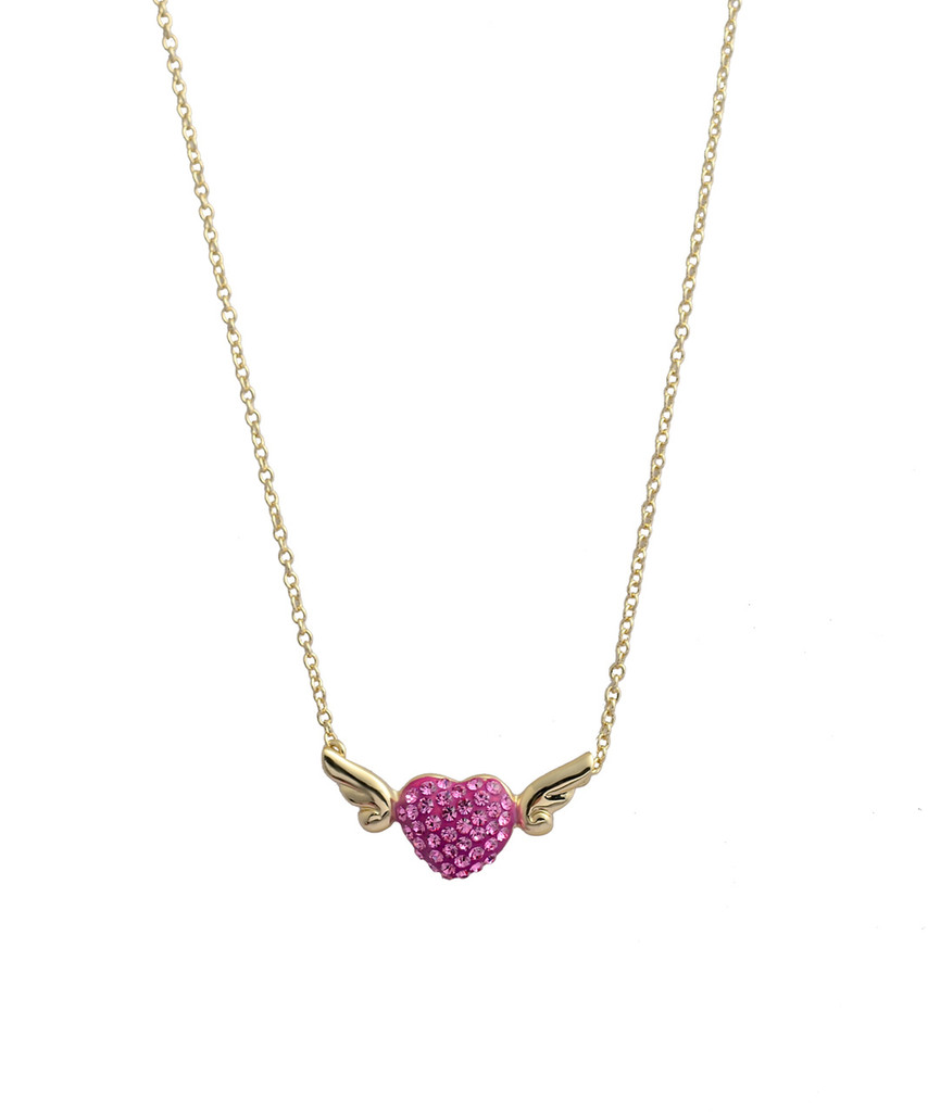 My Heart Has Wings Necklace