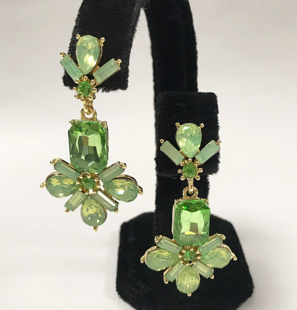 Exquisite Pacific Opal Crystal Cluster Dangle