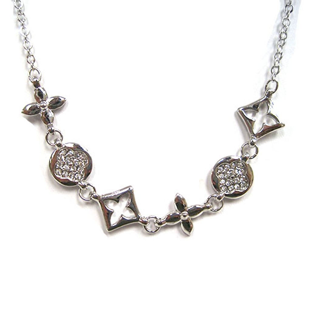 Kisses and Hugs Statement Necklace