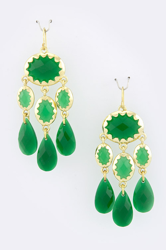 Emerald Isles Swingy Danglers