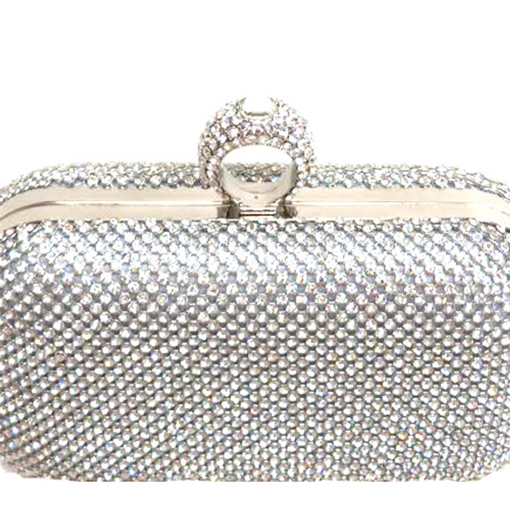 Crystal Finger Ring Clutch