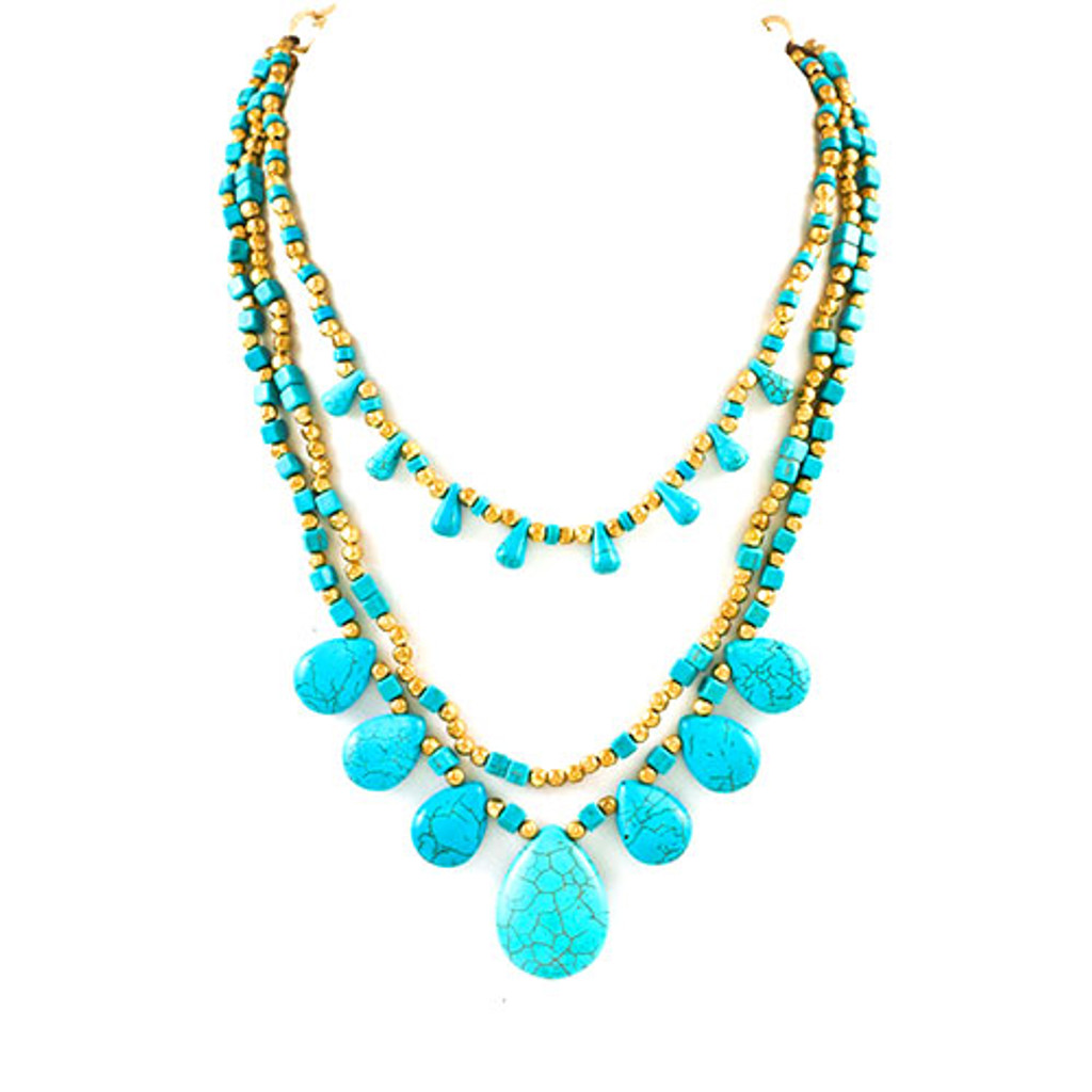 Three Layers of Turquoise