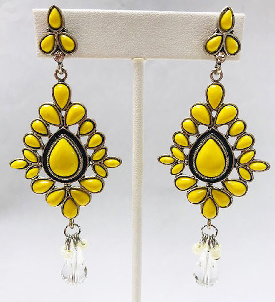 Burst of Yellow Danglers