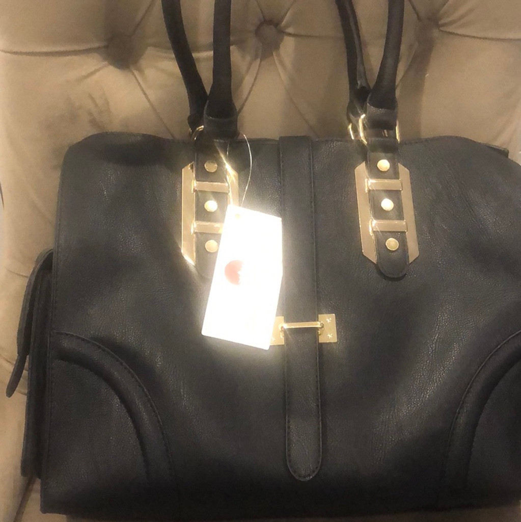 Big Buddha's Ladylike Porter Handbag in Black
