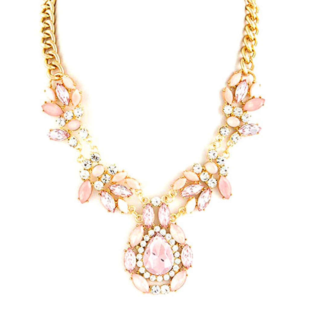 Blush Baroque Collar