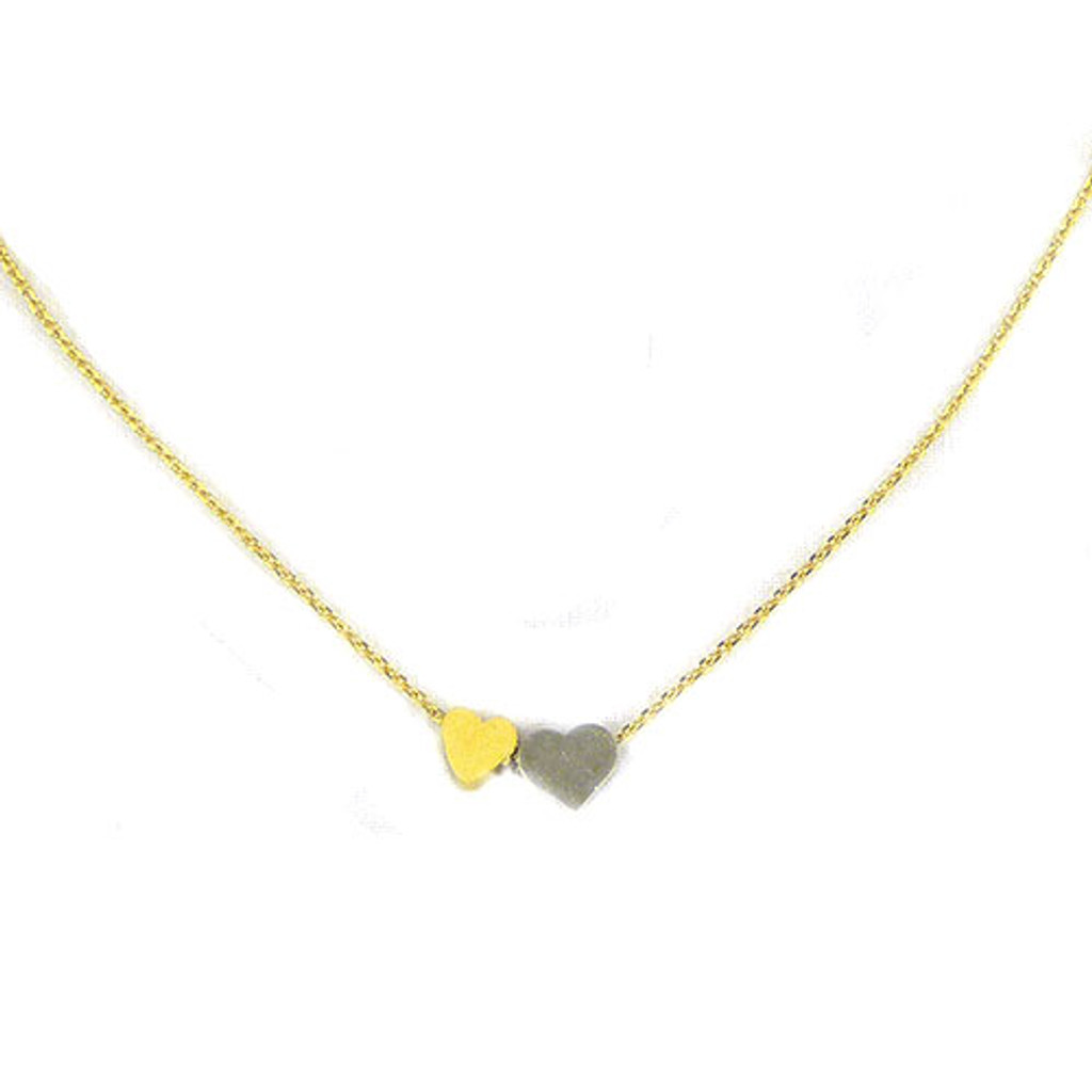 Two-Tone Love-struck Necklace