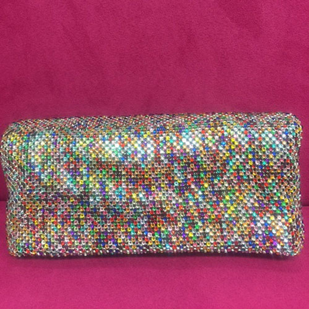 Sondra Roberts Crystal Kaleidoscope Clutch Bag
