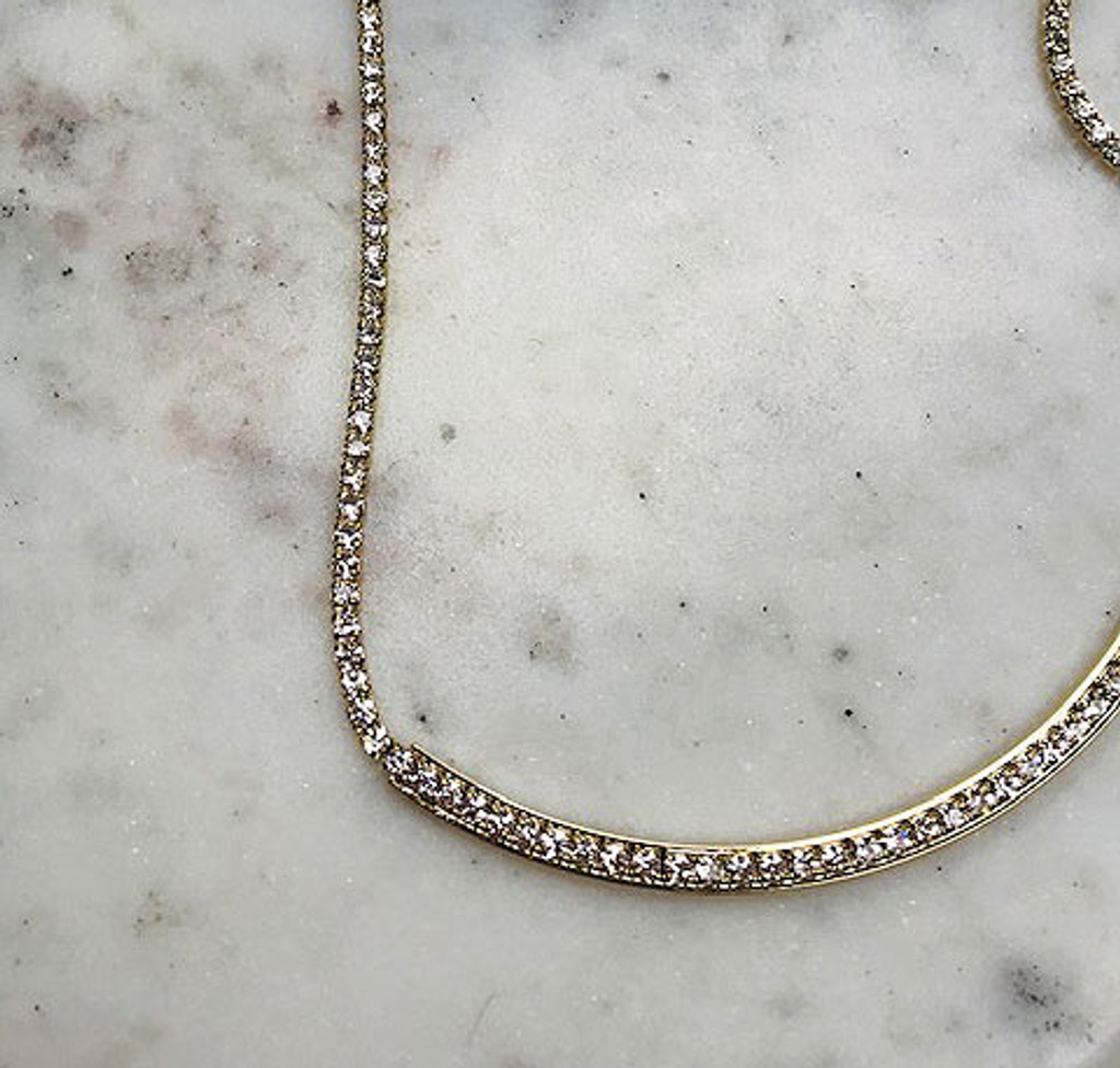 Gold Razzle Dazzle Necklace