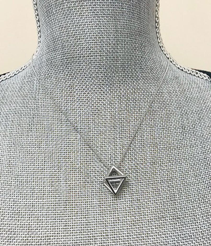 Prism Triangle Necklace S