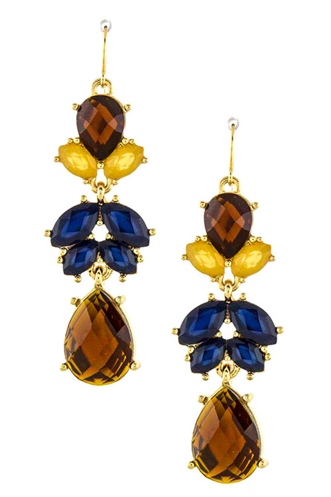 Autumn Jewel Tone Dangles